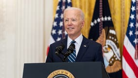 President Biden, first lady visit Georgia on 100th day in office