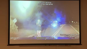 Video: Carroll County shooting suspect fires multiple rounds directly at officers