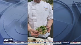 Chef Nick Leahy shares his Vidalia onion flatbreads