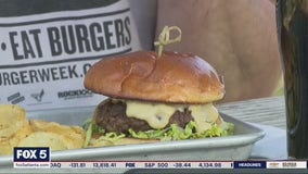 Burgers with Buck tries The Lost Druid Brewery's White Bull Burger