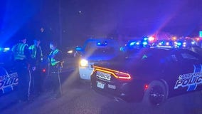 Officials: Suspect rams Dunwoody police vehicles with stolen car
