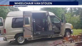 Generous strangers intervene after thieves steal wheelchair accessible van
