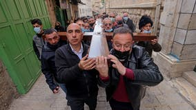 Some Holy Land sites reopen as Christians mark Good Friday