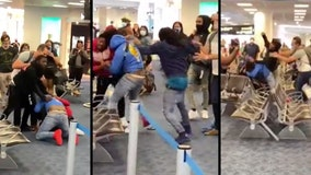Miami International Airport turns into slugfest after massive brawl breaks out