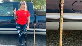 Veteran searching for missing cane taken from Georgia gas station