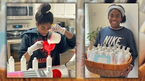 Georgia teen struggles to find hair care product, develops her own