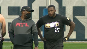Punter Presley Harvin III is a big presence in NFL draft
