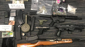 Arrest warrant in South Fulton leads to large drug, gun bust