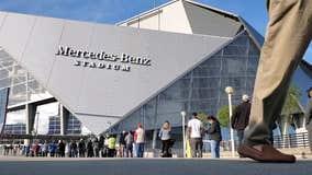 Mercedes-Benz Stadium sets new COVID-19 shot record