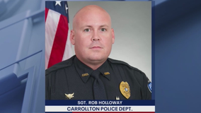 Wounded Carrollton officer doing 'amazingly well,' department says