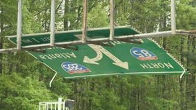 GDOT inspecting signs after sign over interstate falls