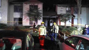 Dozens displaced in early morning Norcross apartment fire