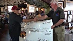 Woodstock restaurant raises money for homeless veterans