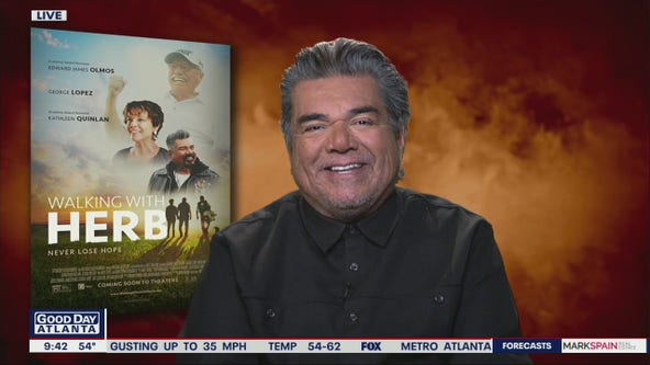 George Lopez on his new film Walking with Herb