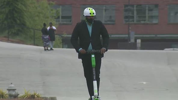 Lime holds ride safety event, says it hopes to return to Atlanta this year