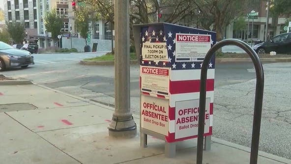 Fulton County commissioners vote to challenge Georgia's election reform law