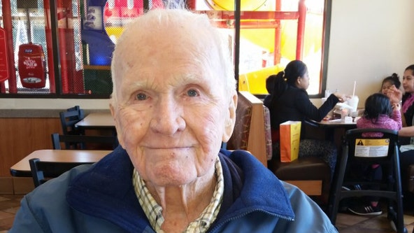 WWII Navy veteran in Atlanta celebrates 100th birthday