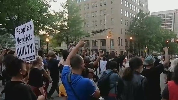 Derek Chauvin verdict: Demonstrations in Atlanta peaceful