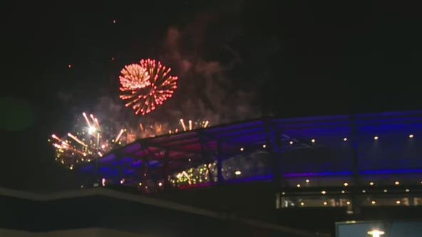 Win, fireworks for Braves fans at home opener at Truist Park