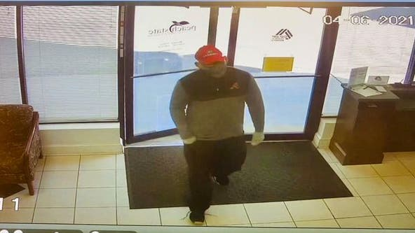 New video captures Jefferson bank robbery suspect