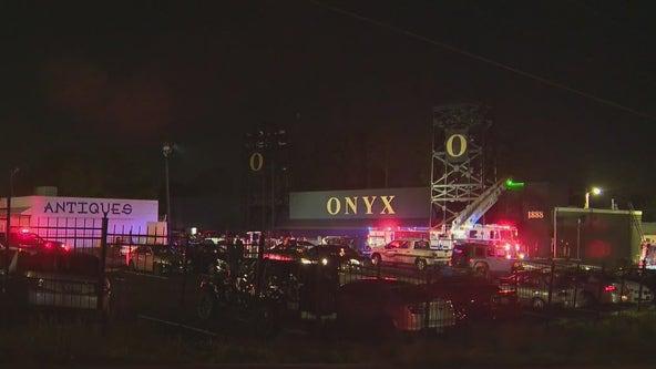 Firefighters respond to blaze at Atlanta night club