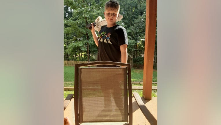13-year-old Luke Poste, a special needs child who has wandered away from home (Gwinnett County Police).