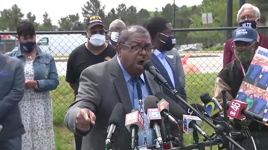 Georgia faith leaders call for nationwide boycott of Home Depot over voting law