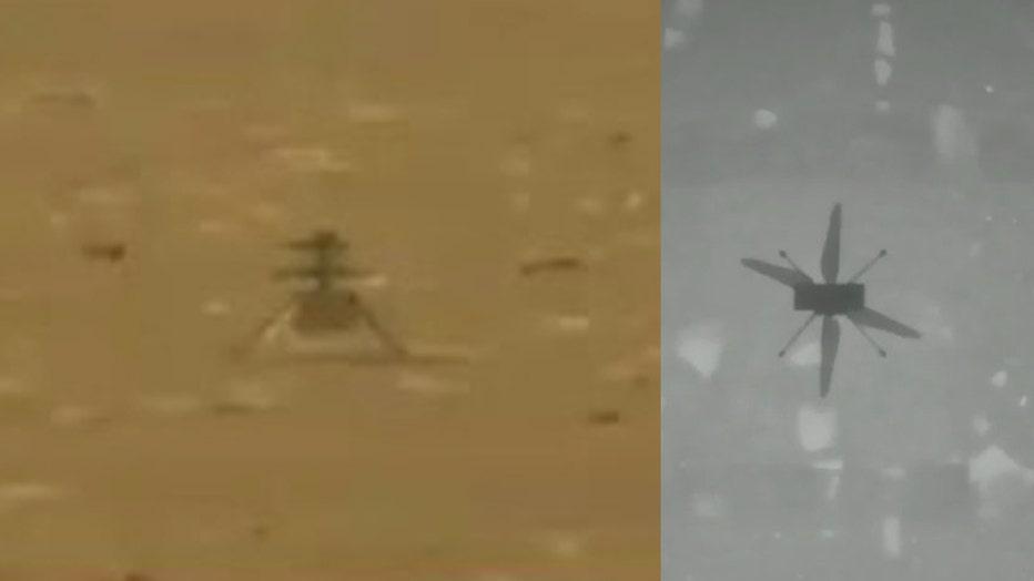 NASA ingenuity helicopter 041921