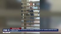 Video shows dramatic moments after armed robbery