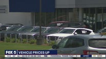 Several factors driving car prices up