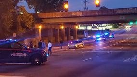 Lyft passenger shot under I-85 overpass in SW Atlanta