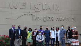 Douglas County ICU workers honored for dedication during pandemic