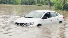 Heavy rains sweep across Louisiana, flooding homes and closing major highways