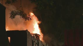Firefighters battle 2-alarm fire at West End apartments