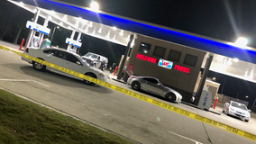 1 killed, 5 wounded after 30 rounds fired at DeKalb County gas station