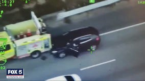 Dramatic video shows crash ending to high-speed car chase in Atlanta