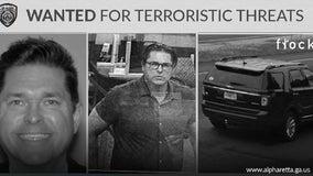 Man wanted by Alpharetta police making terroristic threats