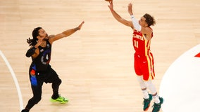 After spitting ordeal, Young leads Hawks past Knicks 105-94