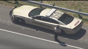 Police hunt for suspect near I-20, Highway 92 in Douglas County