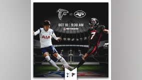 Falcons will play Jets in London in 2021