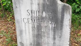 Cherokee County woman takes on monumental task to clean up cemetery
