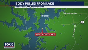 Body found on West Point Lake in Troup County, deputies say