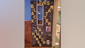 Students upset after principal orders removal of Black Lives Matter display