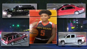 Police ID vehicles connected to fatal shooting of 15-year-old Diamond Johnson