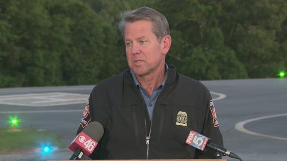 Gov. Brian Kemp addressing Atlanta crime spike with special operation