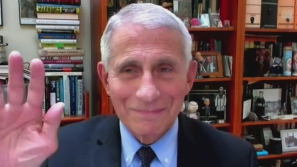 Dr. Anthony Fauci gives Emory University commencement address