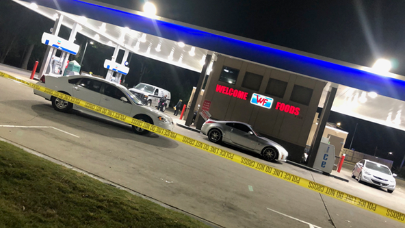 5 hurt in Dekalb Co. gas station drive-by shooting