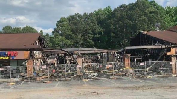 Norcross strip mall fire