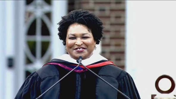 Stacey Abrams sends off 2020 graduates year after scheduled Clark Atlanta University commencement address