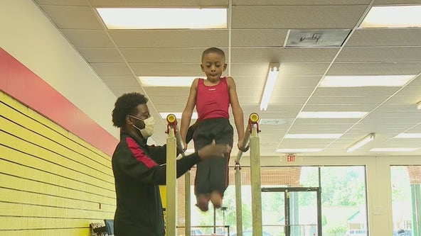 Georgia boys gymnastics coach goes viral after asking for donations